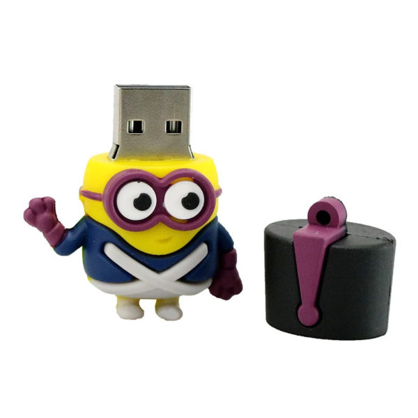 Minions Soldier 16 GBGB USB Pen Drive Creative Toy Cartoon Character