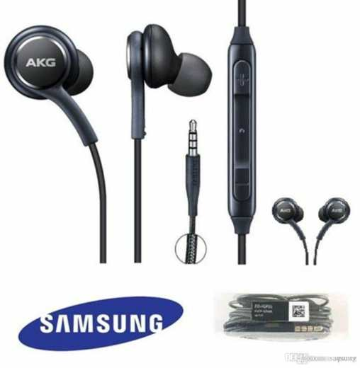Earphone with Mic - 3.5mm Sports Handsfree for All Mobile Samsung Nokia Apple AKG Sony Huawei Android IOS