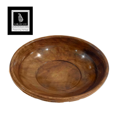 Mara Wooden Fruit Bowl 06""