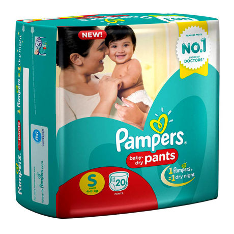 Pampers Small Baby Diaper 20 Pack