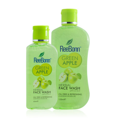 ReeBonn Green Apple Herbal Face Wash 60ml