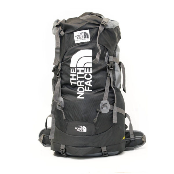 Hiking North Face Mountain Bag Black 70L- FBB845