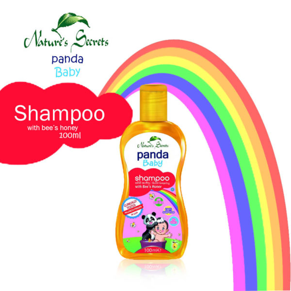 Nature Secrets Panda Baby Shampoo with Bees Honey 100ml – BSNC305