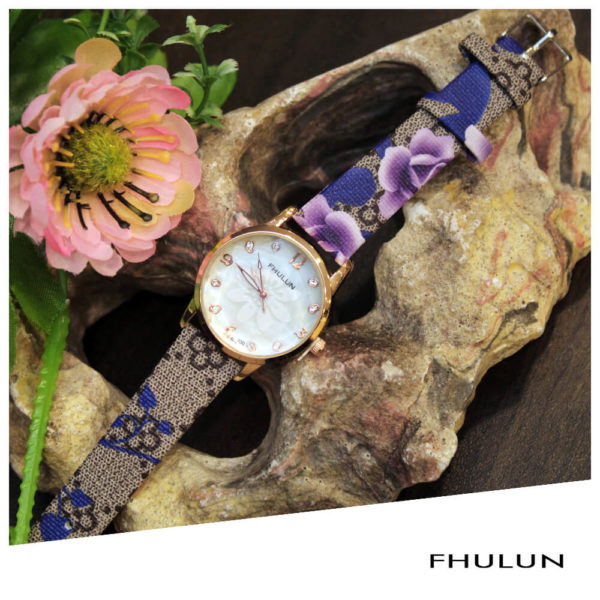 FHULUN Ladies Watch Purple 1322L – WW397