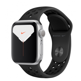 Apple Watch Series 5 Nike GPS 44mm Silver Aluminium Case with Nike Sport Band