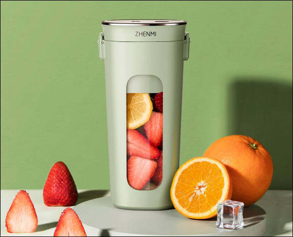 Here is the Zhenmi juicer capable of making a smoothie in just 28 seconds.
