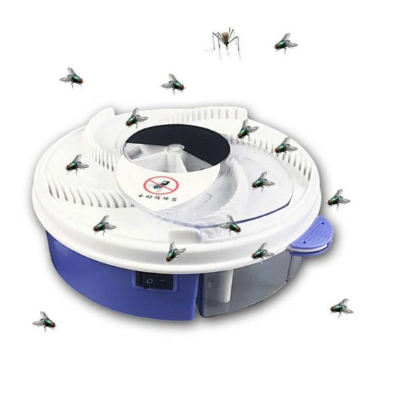 Rechargeable Electric Housefly Trap