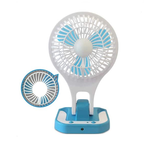 Rechargeable Fan With Light JR-5580