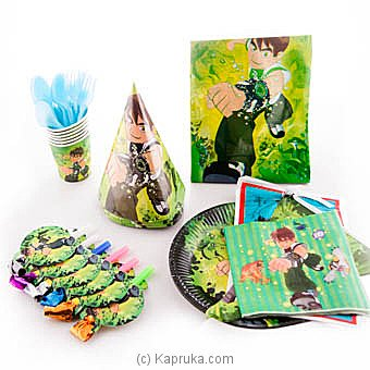 Ben 10 Kids Party Pack