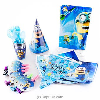 Minions Kids Party Pack