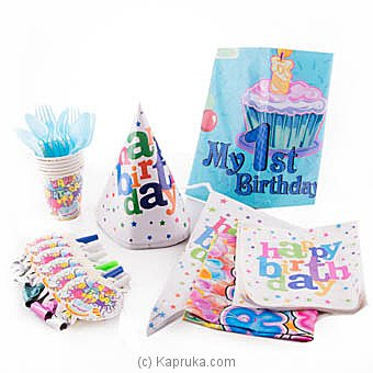 My 1st Birthday Kids Party Pack