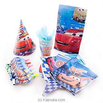 Lightning Mcqueen Kids Party Pack