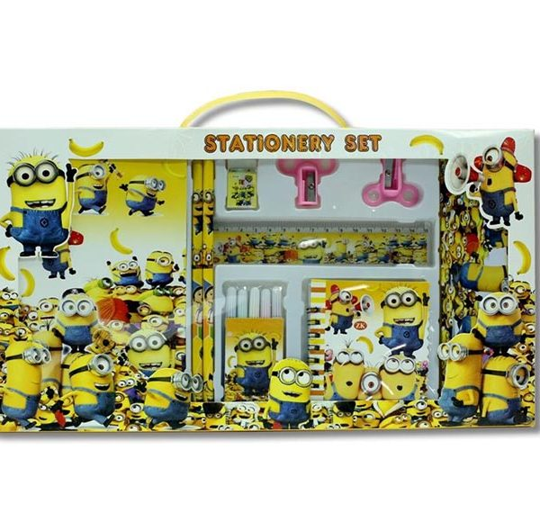 Minion Stationery Set