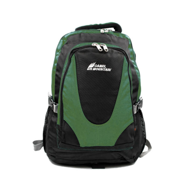 Camel Mountain Green Backpack 50L