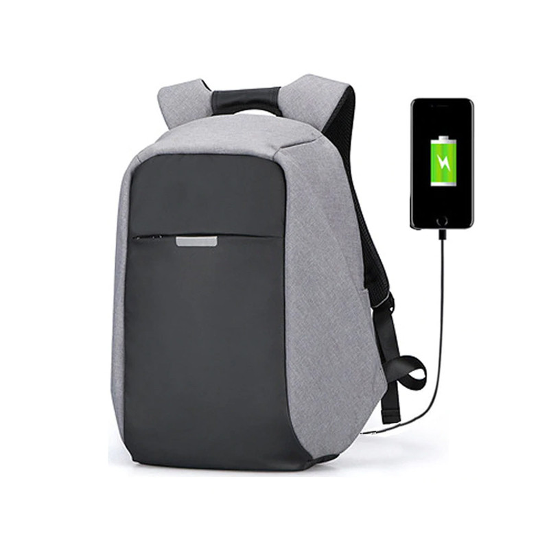 Anti Theft Back Pack With USB Charging Port