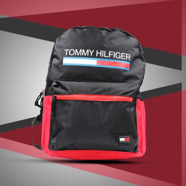 Tommy Hilfiger Black Backpack FBB967