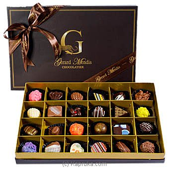 Gerard Mendis Chic Paperboard Chocolate Box 24Pcs