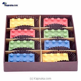Gerard Mendis Chocolate Legos Box 8Pcs