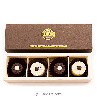 Java Lounge Daisy Chocolates Pack 4Pcs