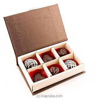 Java Lounge Dark Fantasy Chocolates Pack 6Pcs