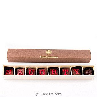 Java Lounge Naughty Chocolate Box 8Pcs