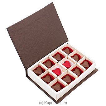 Java Lounge Sesame Praline Chocolate Box 12Pcs