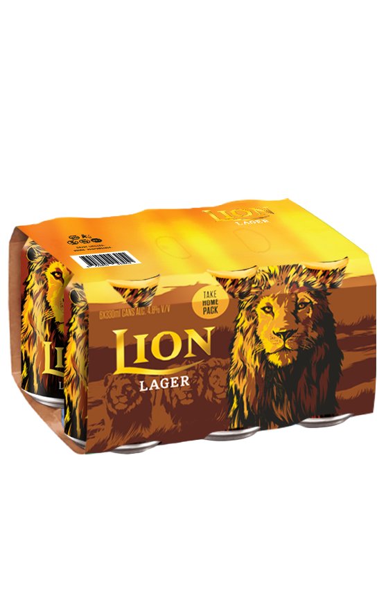 Lion Lager Beer 330ML 6 Pack