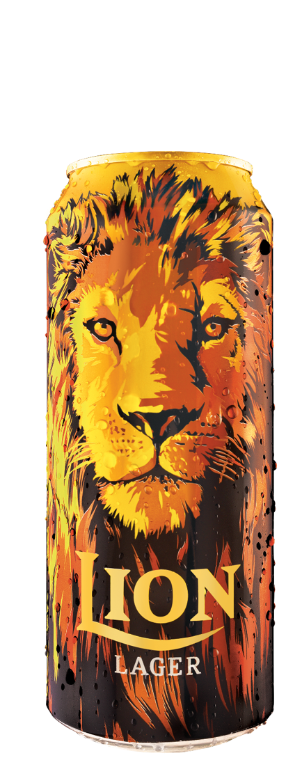 Lion Lager Beer Can 500ml 6 Pack