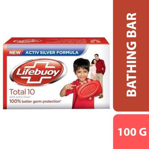 Lifebuoy Total 10 Soap 100g