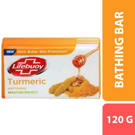 Lifebuoy Turmeric & Honey Soap 120G