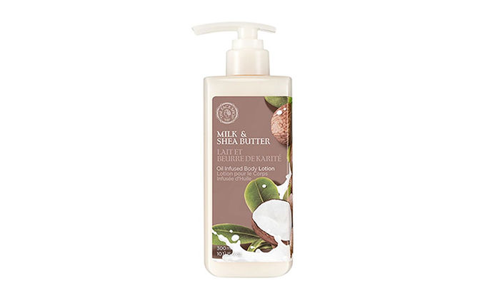 The Face Shop Milk & Shea Butter Oil Lotion