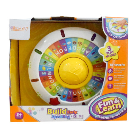 Fun & Learn Interactive Learning Toy