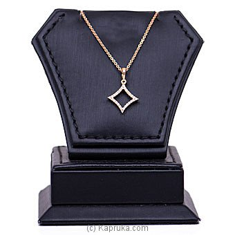 Alankara 18K Rose Gold Pendant With Chain