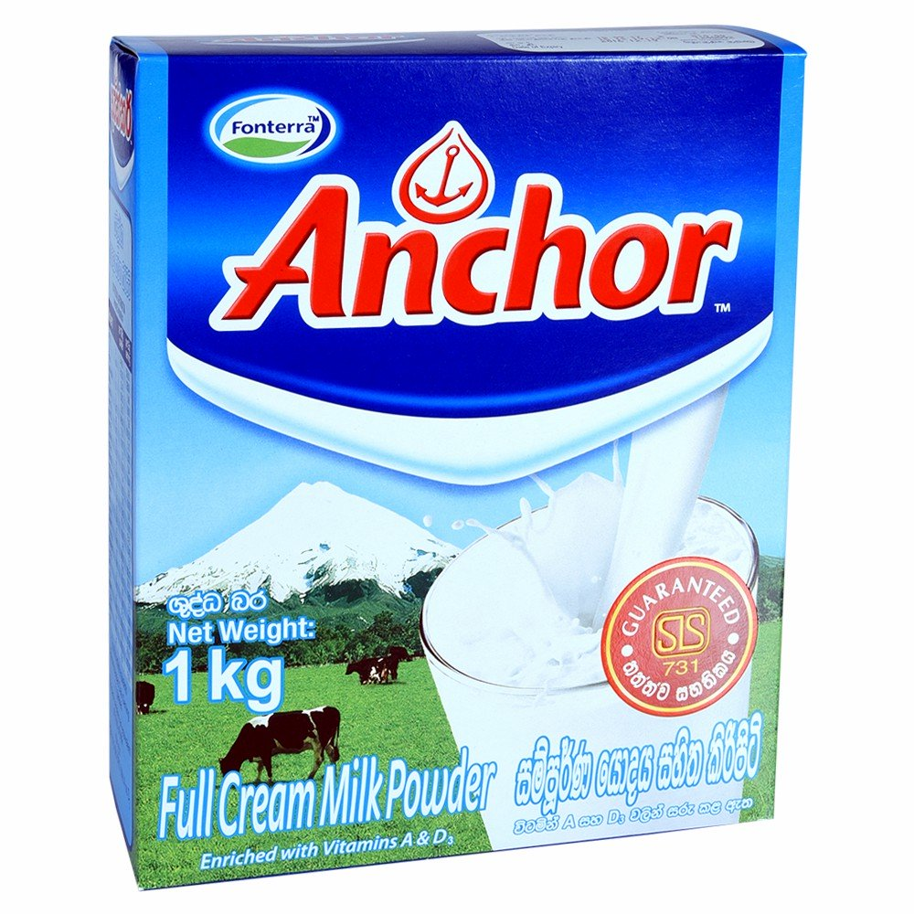 Anchor Full Cream Milk Powder 1kg