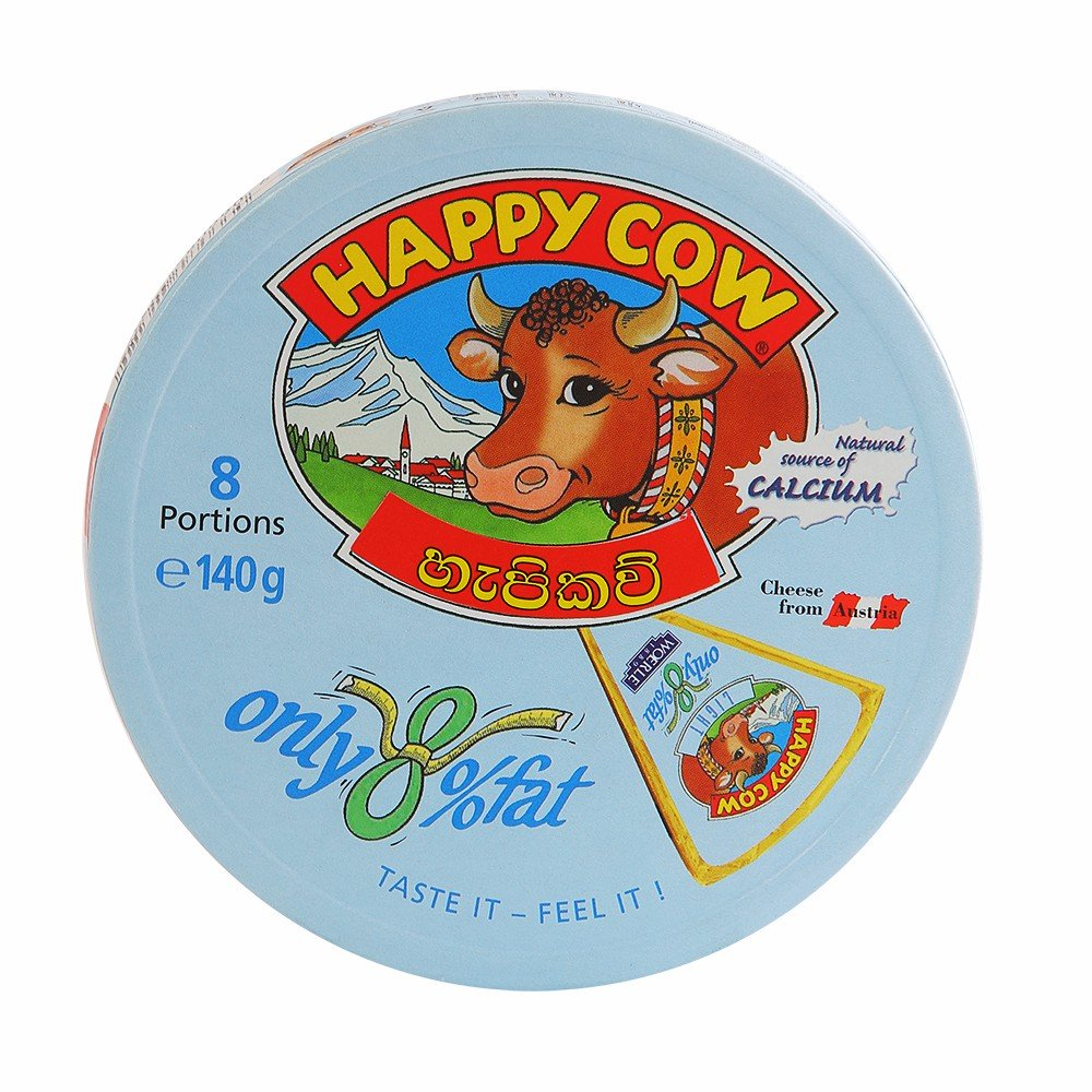 Happy Cow Cheese Low Fat 140g