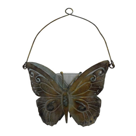 Butterfly Candle Holder (HDA1116)