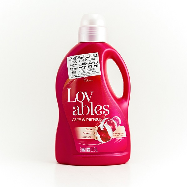 Lovables Care and Renew Laundry Liquid 1.5L