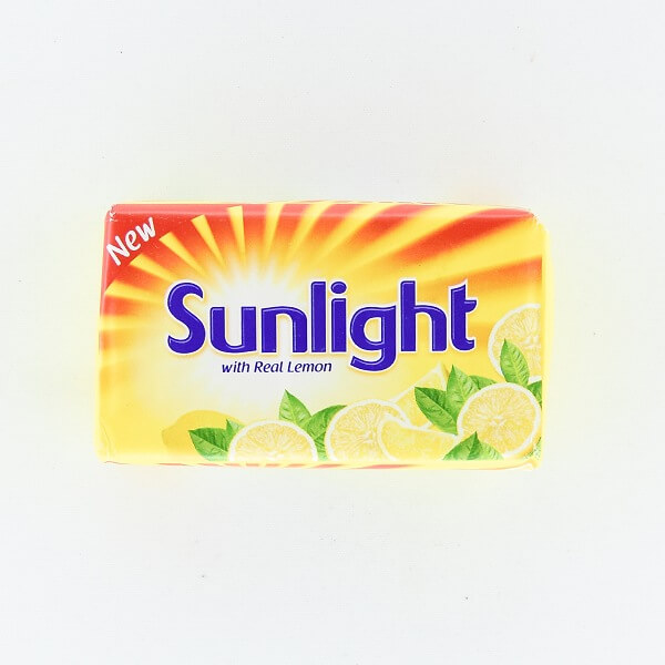 Sunlight With Real Lemon Soap 120g