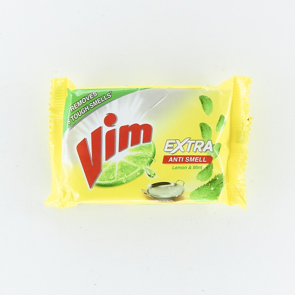 Vim Extra Anti Smell Dishwash Bar 100g
