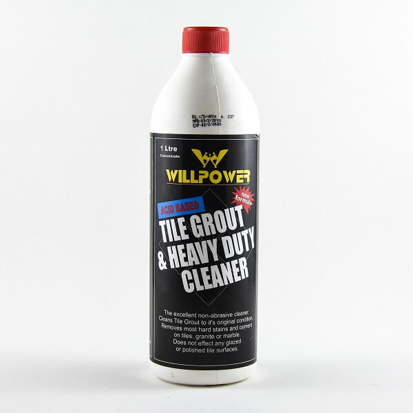 Willpower Tile Grout & Heavy Duty Cleaner 1L