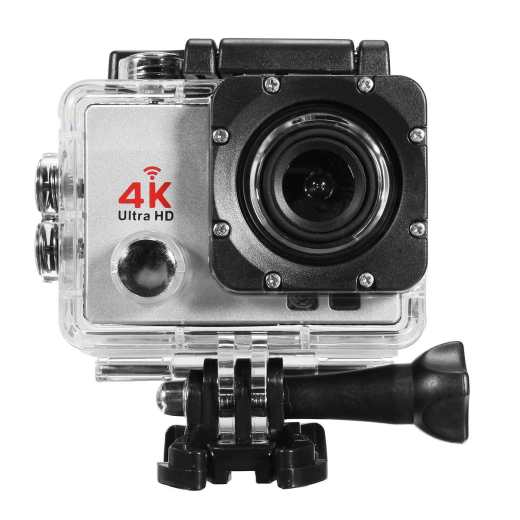 Wifi 1080P 16MP 4K Ultra HD Sports Action Camera DVR DV Cam Camcorder Waterproof Silver