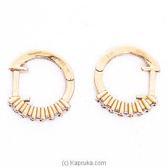 Alankara 18K Rose Gold Earrings