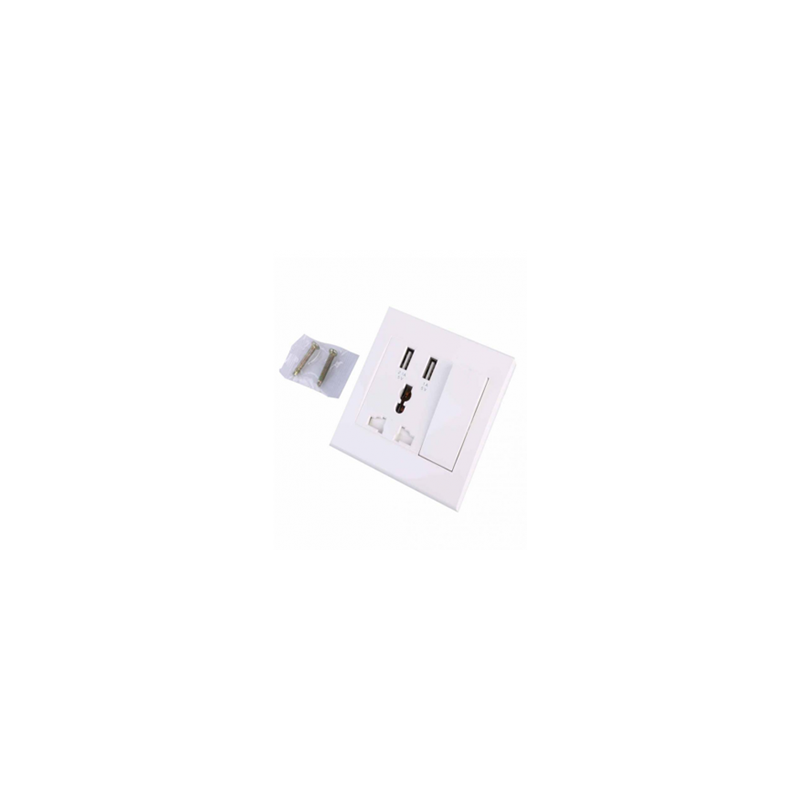 Ayad USB Wall Socket 3 Port