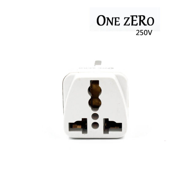 One Zero 250V 15A 5 Way Adaptor