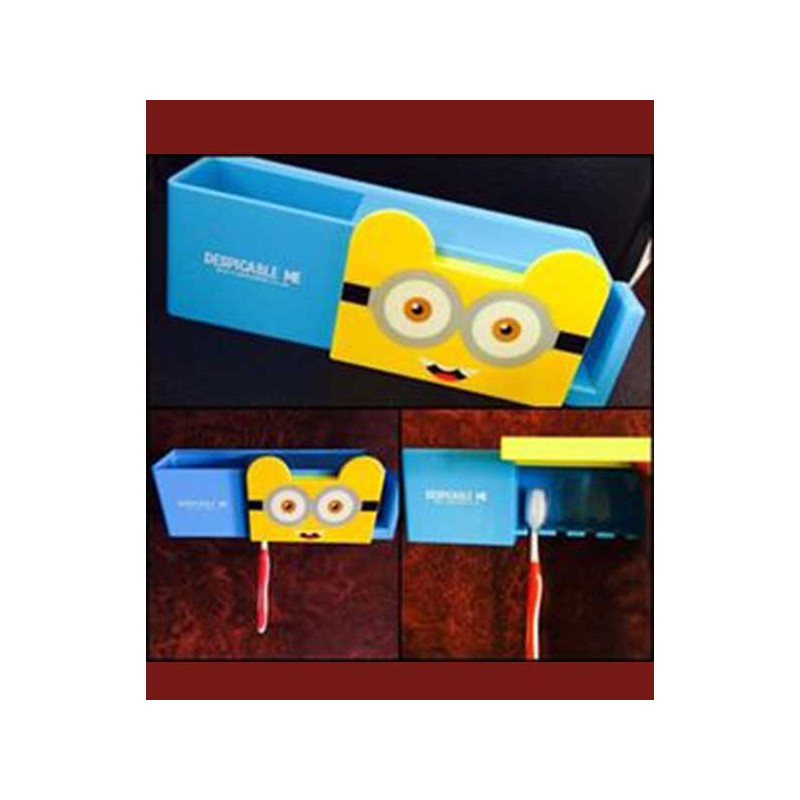 Minion Themed Toothbrush Holder