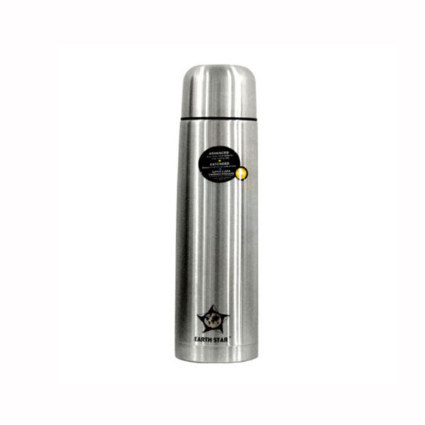 Earth Star Stainless Steel Vacuum Flask 1L