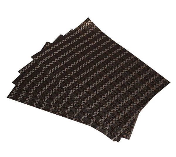 4 Elegant PVC Weave Table Mats