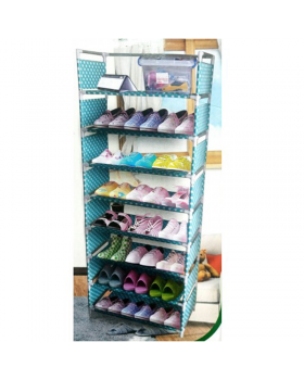 9 Layer Foldable Shoe Rack