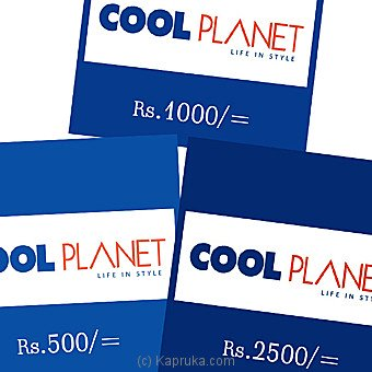 Cool Planet Gift Voucher Rs. 5000
