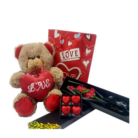 Valentine Bundle Pack With Teddy